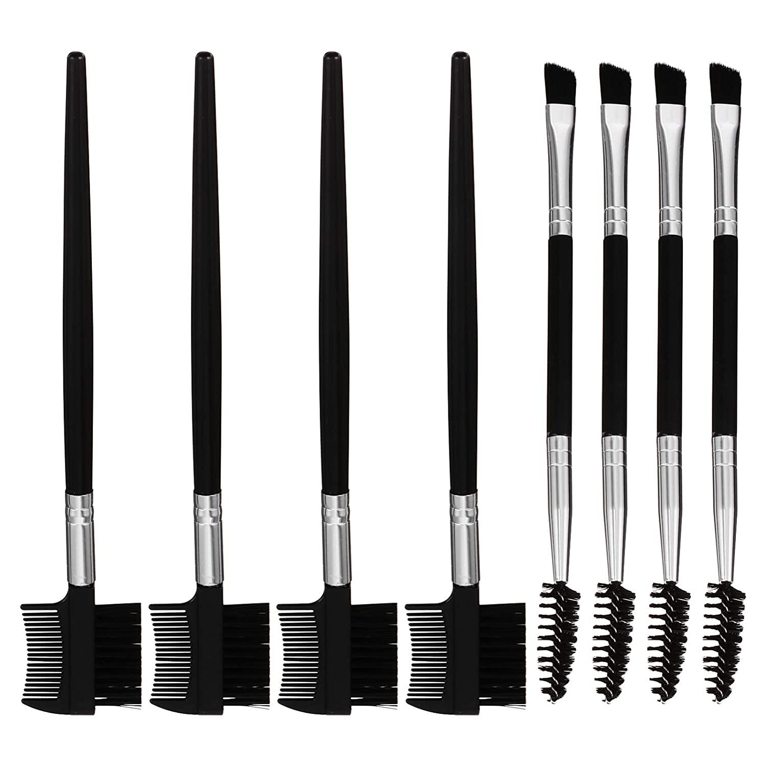 Beaupretty 8pcs Eyebrow Recommendation Spoolie Brush and Comb Eyelash Professio OFFicial store