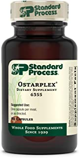 Standard Process Ostarplex - Whole Foods Bone Health and Bone Support, Liver Support with Betaine Hydrochloride, Soy Prote...