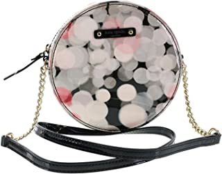 Cherry Terrace Pattent Leather Small Round Soulder Bag Molti Colored