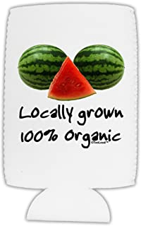 TooLoud Locally Grown Organic Melons Collapsible Neoprene Tall Can Insulator