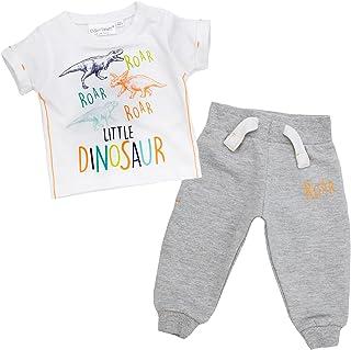 Babytown Baby Boys Safari Themed T Shirt Top /& Jog Pants Set