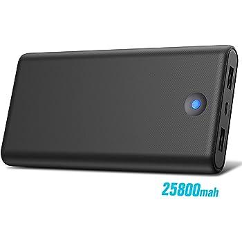 Trswyop Batería Externa para Móvil 25800mAh【Colorido Diseño de ...