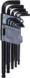 六角レンチ 13本組 六角レンチ セット インチ L字 片側ボールポイント オリジナルパッケージ