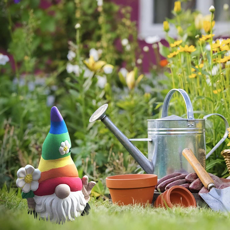Garden Choice Gnome Statue Cute Indoor Outdoor Sales Welcome Sign Coa Special
