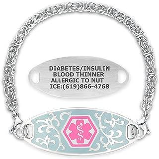 medical bracelet charms