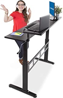 """Stand Steady Tranzendesk 55"""" Dual Level Standing Desk 