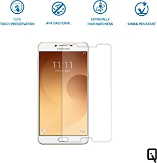 IQ Premium Quality Tempered Glass Screen Guard Protector for Samsung C9 Pro