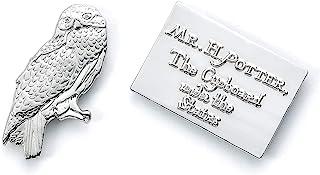 Insignia oficial de Harry Potter Hedwig & Letter Pin de The Carat Shop