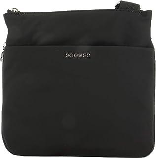 Bogner Ladies Klosters Serena Shoulderbag Schwarz, Damen Umhängetasche, Größe One Size - Farbe Black