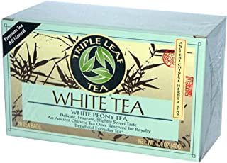 Triple Leaf White Tea, 20 Bags