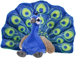 مخمل خواب دار طاووس جمهوری وحشی ، حیوانات شکم پر ، اسباب بازی مخمل خواب دار ، هدایای بچه ها ، بچه گربه ها ، 8 اینچ