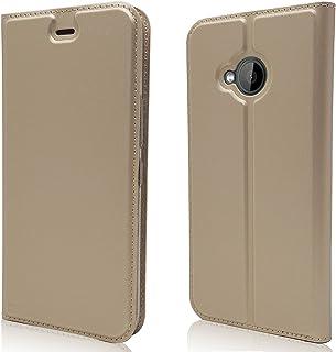 جراب لهاتف HTC U11 Life Case، جراب ومحفظة من الجلد الصناعي الكلاسيكي من Jaorty بغطاء قلاب رفيع بفتحات لبطاقة الائتمان، وجي...