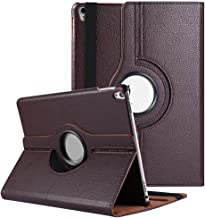 iPad Pro 9.7 (2016) Case, Sumaclife Heavy Duty Faux Leather 360 Rotating Sleeve Case (Coffee) for iPad Pro 9.7 Inch