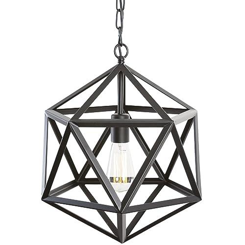 geometric chandelier  amazon com