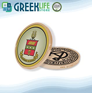 Alpha Chi Omega Gold Color Small Collectible Challenge Coin Lucky Coin