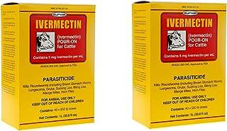 Durvet (2 Pack) Ivermectin Pour On 1 Liter