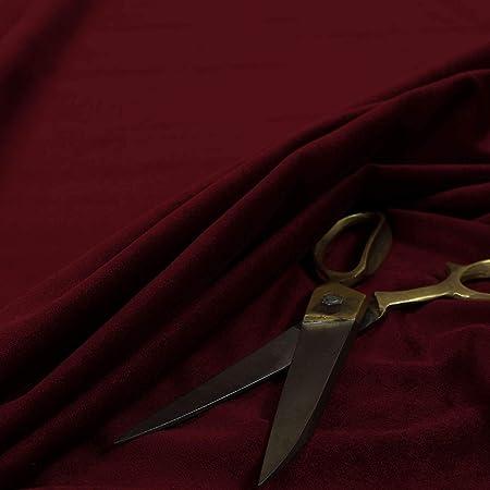 Matt Plain Cotton Effect Velvet Upholstery Quality Furnishing Fabrics In New Silver Colour