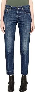 GOLDEN GOOSE Luxury Fashion Womens G34WP008A2 Blue Jeans | Season Permanent