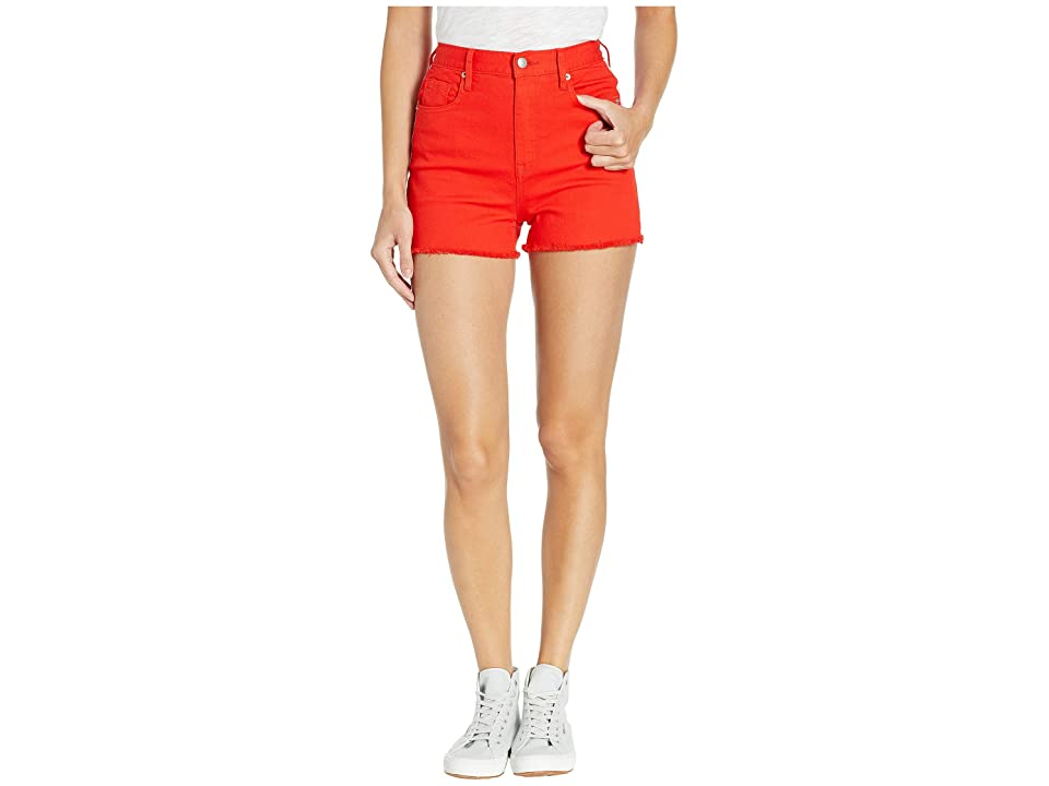3fe876519 Juicy Couture Red Denim Shorts with Side Stripe (City Rouge) Women s Shorts