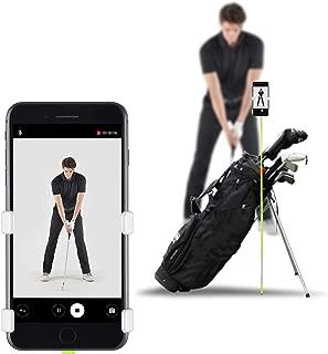 SelfieGolf Record Golf Swing Porta Clips para Celular y Ayuda para Entrenamiento Accesorios de Golf Ganador del Mejor Producto de la PGA Funciona con cualquier Teléfono Inteligente, Rápido de Instalar