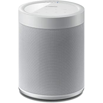 Yamaha MusicCast 20 Wireless Speaker for Streaming Music. White. Works with Alexa