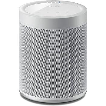 Yamaha WX-021 MusicCast 20 Wireless Speaker, Alexa Voice Control, White