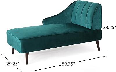 Fine Amazon Com Sandy Wilson Home S62071 R 859 Kai Chaise Sofa Spiritservingveterans Wood Chair Design Ideas Spiritservingveteransorg