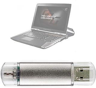 DURAGADGET Pendrive USB 2.0 con conexión USB y Micro USB - 16 GB para Portátil ASUS ROG Strix GL553VD-DM470, ROG Zephyrus GX501VI XS74, Zenbook Flip UX360CA-C4177T, Zenbook Flip UX560UQ-FZ033T