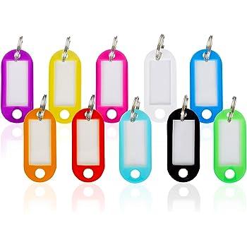 100 Stk Schlüsselschild keine farbenwählbar Schlüsselanhänger zum Beschriften