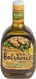 Member's Mark White Balsamic Vinaigrette Dressing & Marinade (36 oz.) (pack of 2)