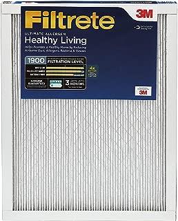 Filtrete 16x25x1, AC Furnace Air Filter, MPR 1900, Healthy Living Ultimate Allergen, 2-Pack