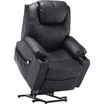 Mcombo Elektrisch Relaxsessel Massagesessel Fernsehsessel Liegefunktion Vibration Heizung 7061 Schwarz Amazon De Kuche Haushalt