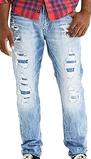 Mens Slim Straight Jean, Medium Tinted