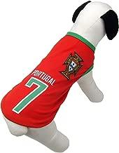 Alfie Pet - Ezra Soccer Jersey - Color: Portugal