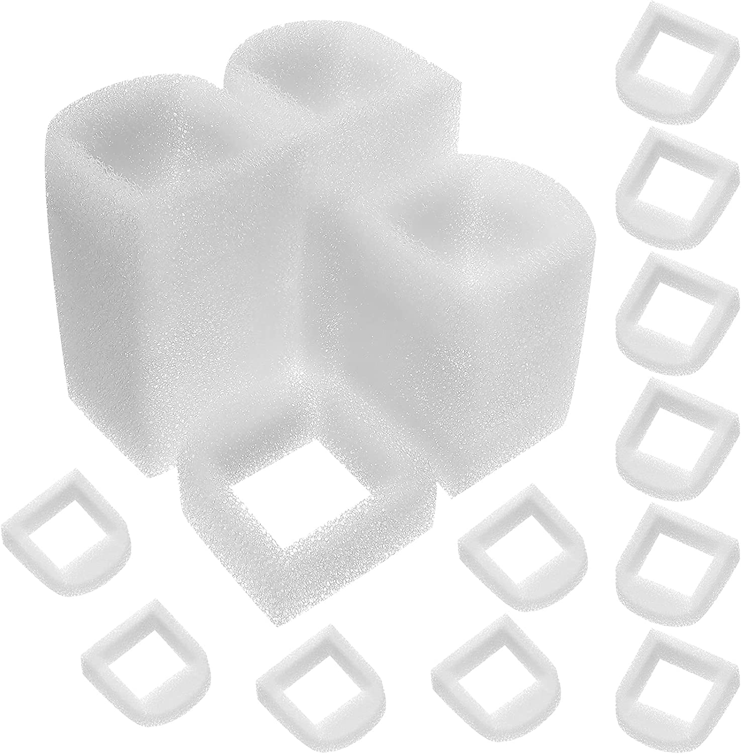 30 Pieces Pet Fountain Max 68% OFF Filter Replacement F Foam Pre-Filter In stock