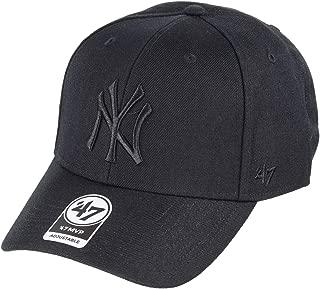 '47 Brand New York Yankees MVP Hat Cap MLB Black/Black