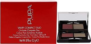 PUPA - Compact Eyeshadow Duo (001 ROSE PERLAGE)