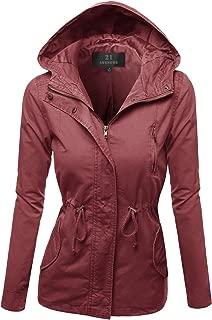 Women's Causal Boyfriend Over-Sized Utility Anorak Jacket