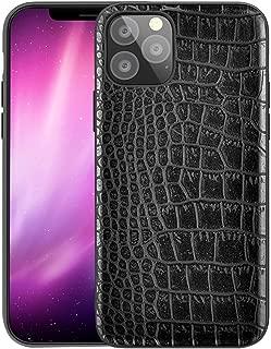 Qcasenice iPhone11Pro Luxury Case Compatible with Apple iPhone 11 Pro 2019 Phone Cover iPhone11pro Apple11 iphone11 lPhone Soft PU Leather Crocodile Fundas Coque 5.8 inch (Black)