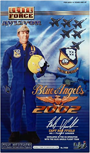 1 6 BBI Elite Force Blau Angel Pilot Rob Ffield No.1 Flight Leader
