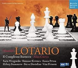 Handel: Lotario ~ Mingardo, Kermes, Prina, Summers, Davislim, Priante, Il Complesso Barocco, Curtis