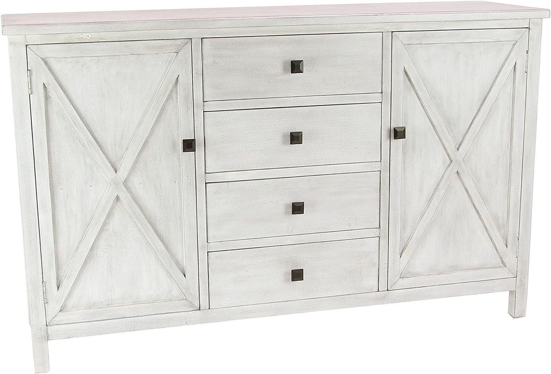 Deco 79 Sideboard Dark White Brown List Rare price