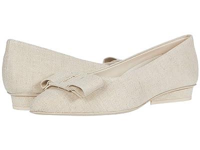 Salvatore Ferragamo New Viva (Naturale Linen) Women