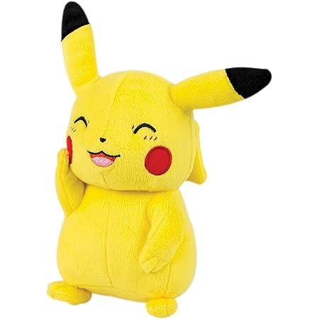 TOMY- Pokémon Small Plush, Pikachu Peluche, T19389, Différents Coloris