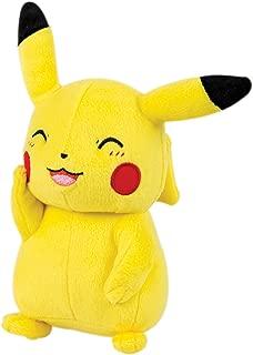 TOMY Pokémon Small Plush, Pikachu Plush Toy Figure