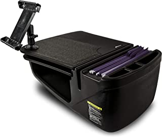AutoExec AUE13024 GripMaster Car Desk (Black with Built-in Power Inverter and iPad/Tablet Mount)