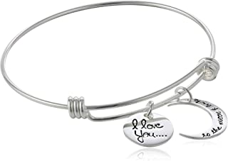 Best love you to the moon and back bangle bracelet Reviews