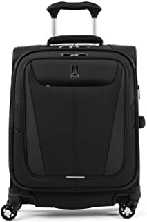 Travelpro Maxlite 5 Softside Expandable Spinner Wheel Luggage, Black, Carry-On 19-Inch