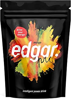 EDGAR Powerdrink Extreme Energy Natural BCCA & MCT Fats Whey Protein No Preservatives Gluten Free 1500 Gram Mango Flavour