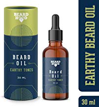 Beardhood Beard Growth Oil - Earthy Tones, 30ml